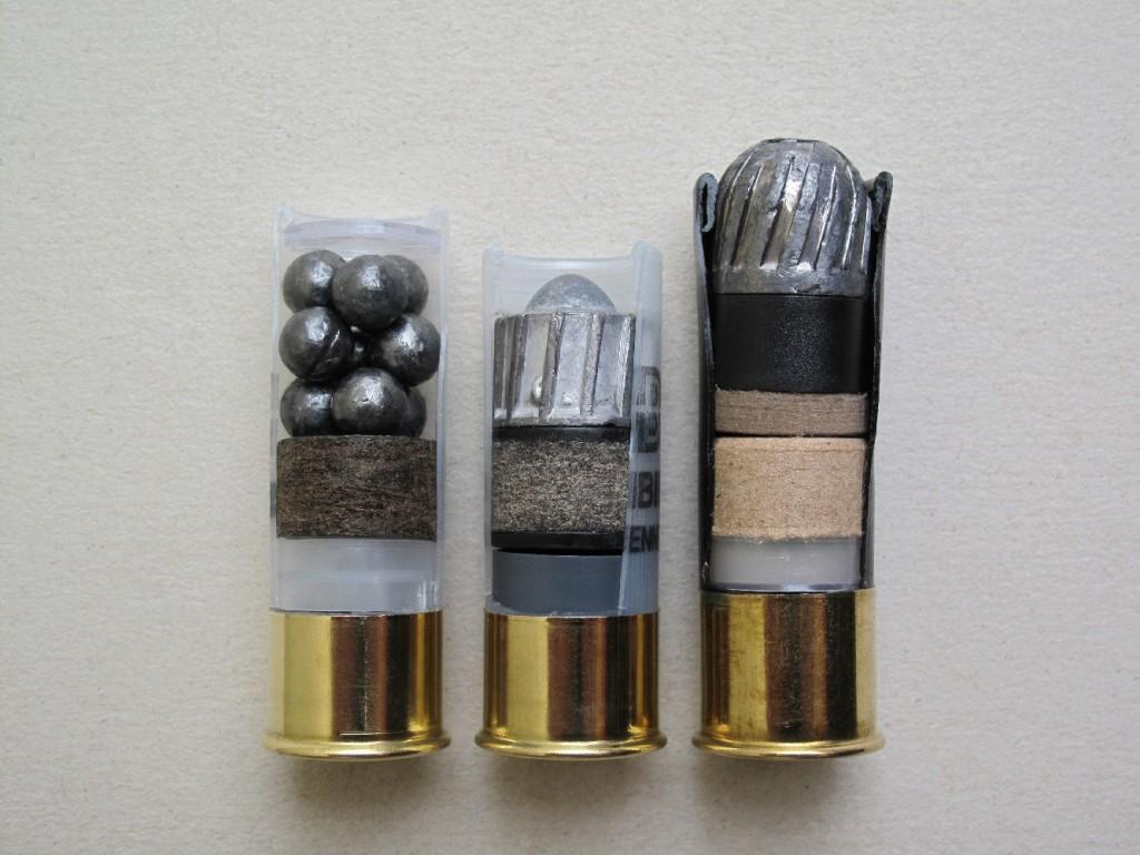 Cette vidéo est une présentation, non exhaustive, de divers types de cartouches de chasse modernes à balle de calibre 12 (18,5 mm).