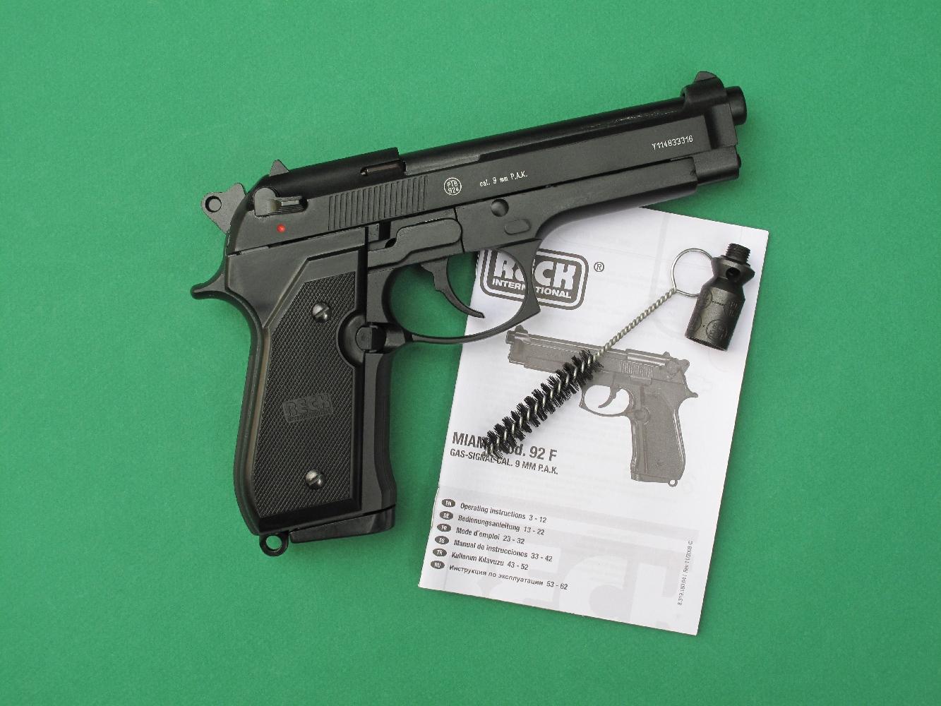 essai armes pistolet d alarme reck miami 92 f copie du. Black Bedroom Furniture Sets. Home Design Ideas