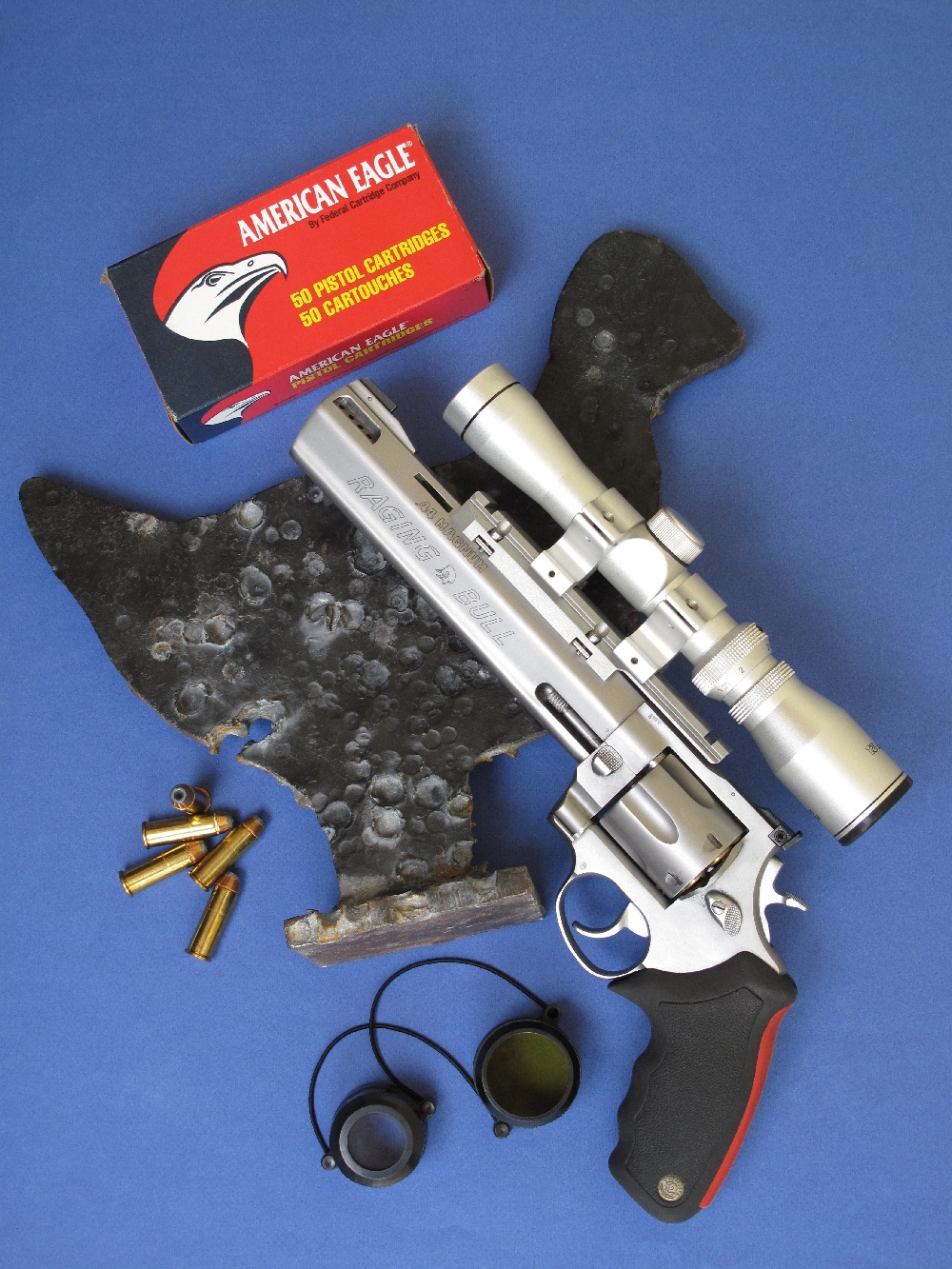 Essai armes | Revolver Taurus modèle 444 « Raging Bull